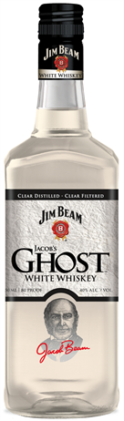Jim Beam White Whiskey Jacobs Ghost